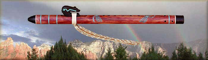 types of native american flutes